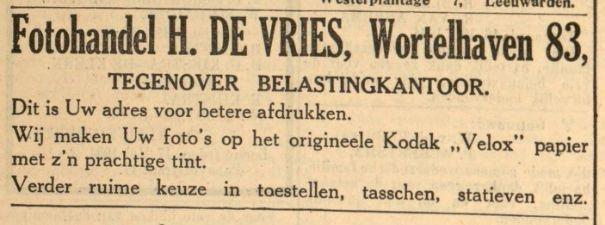 adv. Han de Vries 1934