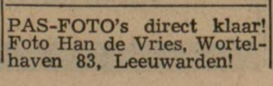 adv. Han de Vries 1970