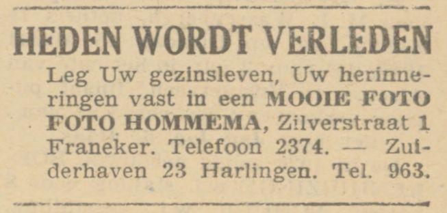 Hommema FD 16-03-1940