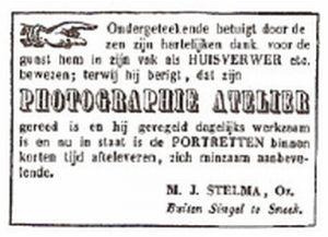 Sneeker Courant 28 mei 1864